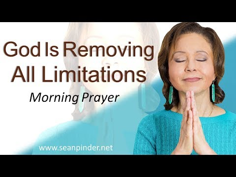GOD IS REMOVING ALL LIMITATIONS (A NEW LEASE ON LIFE) - MARK 5 - MORNING PRAYER  PASTOR SEAN PINDER