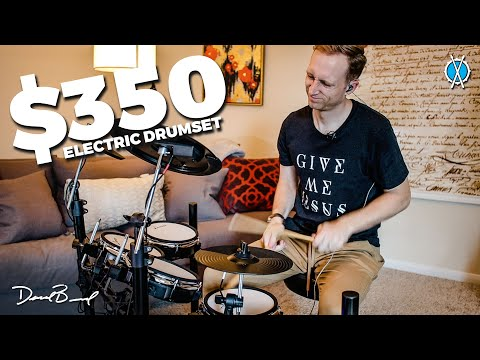$350 Electric Drumset!! Is it worth it? // Review of the Donner DED-200