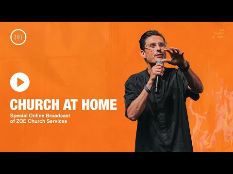 CHURCH AT HOME (Live)  Chad Veach  2PM Service