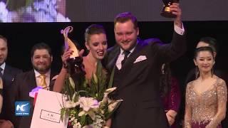 Pareja ruso argentina, ganadores del Campeonato Mundial de Tango