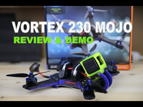 IMMERSIONRC VORTEX 230 MOJO - FPV Race Drone - Review & Demo - UCm0rmRuPifODAiW8zSLXs2A