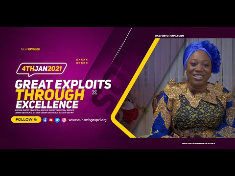 Dr Becky Paul-Enenche - SEEDS OF DESTINY  MONDAY JANUARY 4, 2021