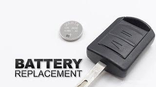 Sostituire batteria chiave Opel Corsa C