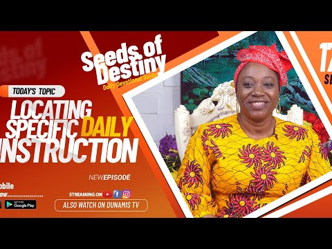 Dr Becky Paul-Enenche - SEEDS OF DESTINY - THURSDAY SEPTEMBER 17, 2020