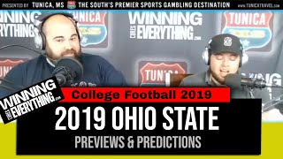 WCE: Ohio St Buckeyes 2019 College Football Previews & Predictions