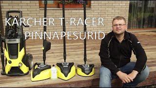 Kärcher T-Racer T350/T450/T550 pinnapesurid