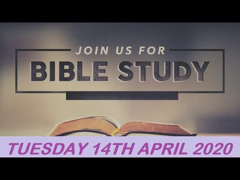 RCCG APRIL 14th 2020 BIBLE STUDY  ARE YOU OFFENDED ?