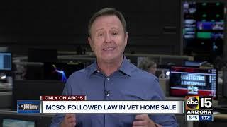 Sheriff Penzone addresses case of veteran evicted over $221