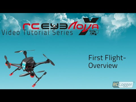 RC Logger NovaX 350 - First Flight - Overview - UCKnM917YTMnAskz14vqBQow