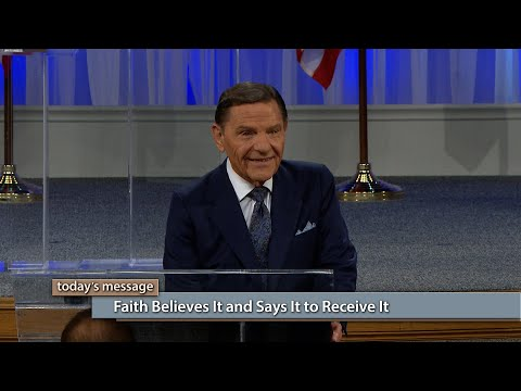 Faith Believes It and Says It To Receive It