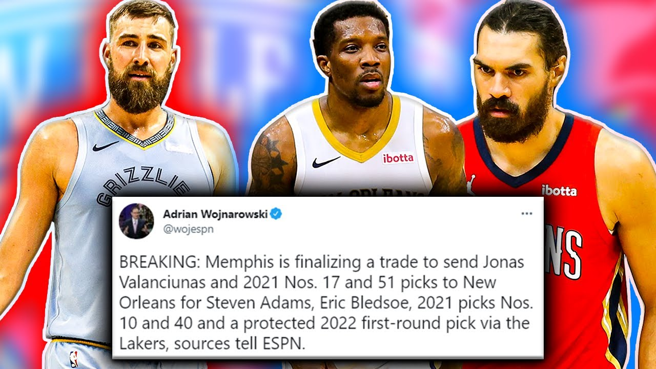 WE HAVE A TRADE – Grizzlies Pelicans FULL Trade Breakdown [NBA News]