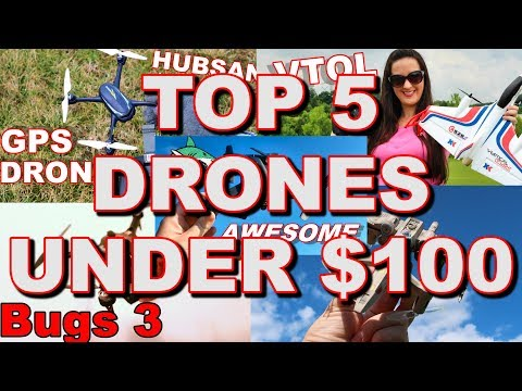 Top 5 Best Drones Under $100 2018 - TheRcSaylors - UCYWhRC3xtD_acDIZdr53huA