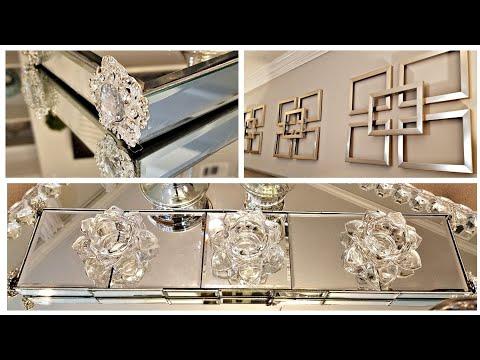 Dollar Tree DIY Mirror Decor Ideas Z gallerie Inspired Wall Decor - UCHSJAub1pBx8UdJSefCegeQ