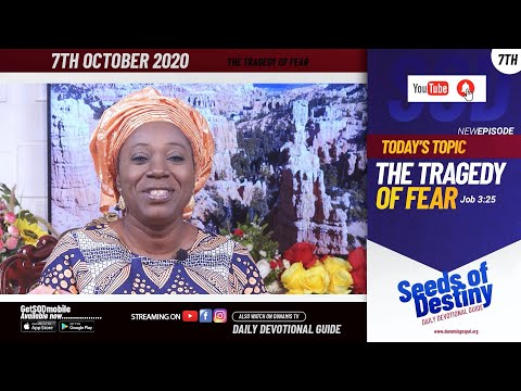 Dr Becky Paul-Enenche - SEEDS OF DESTINY - WEDNESDAY OCTOBER 7, 2020