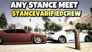 GTA5 Online Any Stance Car Meet LIVE PS4! Chill Session|2.9K Subs?