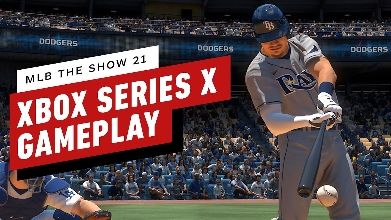 MLB The Show 21 – 10 Minutes of 4K Gameplay on Xbox Series X