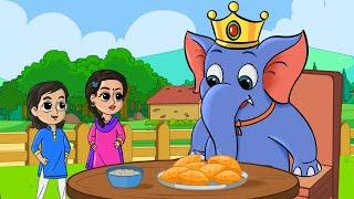 Watch Hathi Raja Kahan Chale Nursery Rhyme हाथी राजा