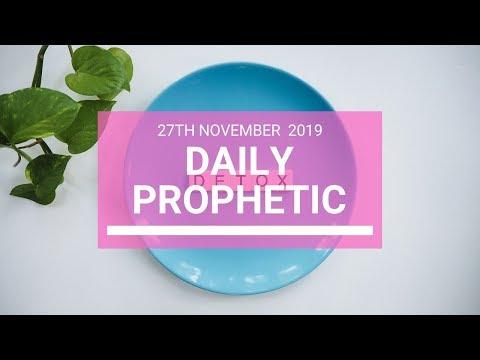 Daily Prophetic 27 November Word 5