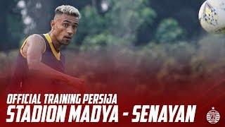 Official Training Persija di Stadion Madya Jelang Hadapi Kalteng Putra FC