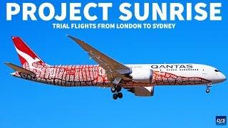Qantas Project Sunrise Research Flights