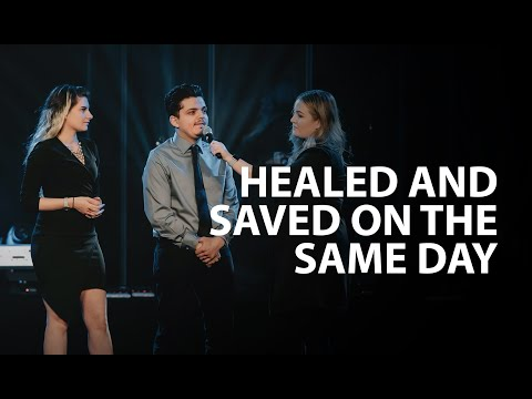 Healed & Saved on the same day
