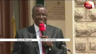 Chief Justice David Maraga  cautions against politicizing the war on graft