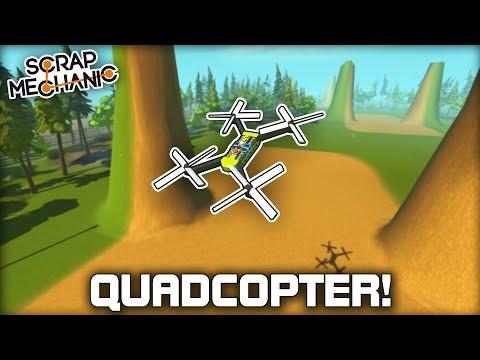 FPV Racing Drone Quadcopter! (Scrap Mechanic Gameplay) - UCFqmcAvY-lLQHJcfOHJavGQ