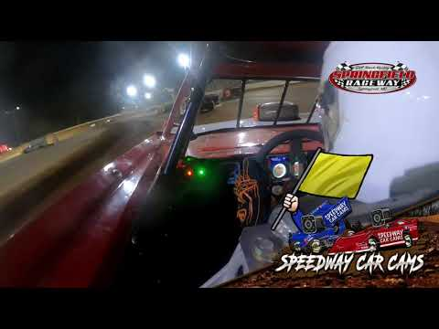 #19jd Jace Parmley - Cash Money Late model - 9-18-2021 Springfield Raceway - In Car Camera - dirt track racing video image