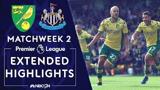 Norwich v. Newcastle | PREMIER LEAGUE HIGHLIGHTS | 8/17/19 | NBC Sports