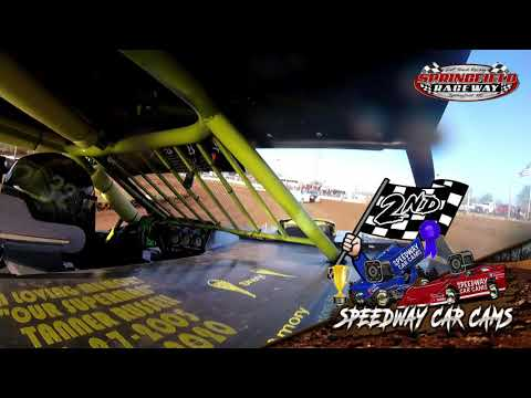 #32 Richard Harrington- Midwest Mod - 4-11-2021 Springfield Raceway - In Car Camera - dirt track racing video image