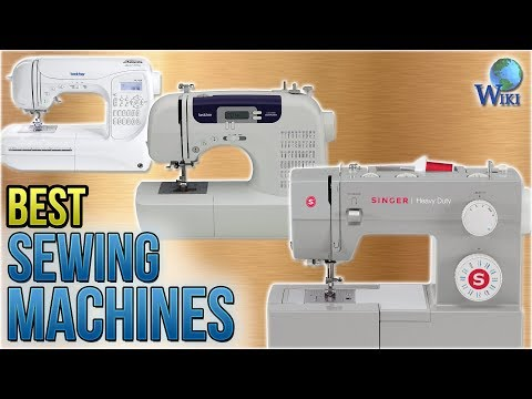 10 Best Sewing Machines 2018 - UCXAHpX2xDhmjqtA-ANgsGmw