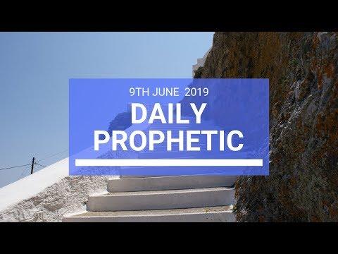Daily Prophetic 9 June 2019   Word 3