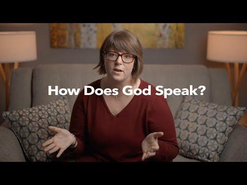 How Does God Speak?