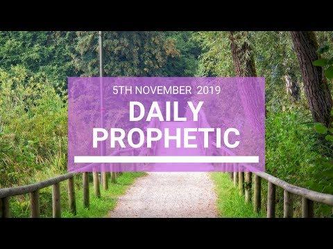 Daily Prophetic 5 November Word 5