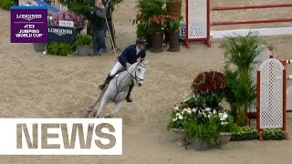 Peder Fredricson wins and sets up a thrilling final day! | Longines FEI Jumping World Cup™ FINAL II