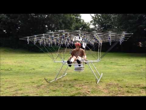 The Swarm Manned  Multirotor Multicopter is Back Flying - UCfQVPS0BvNBAtvyoIXLRk7Q