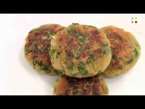 Soya Aur Palak Ki Tikki | Go Healthy | Chef Sahil Arora | FoodFood - UCthIcpK06l9bhi9ISgreocw
