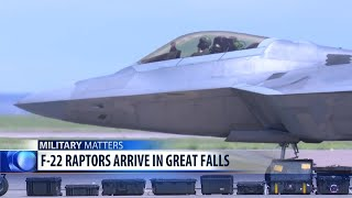 F-22 Raptors land in Great Falls ahead of Mission Over Malmstrom event