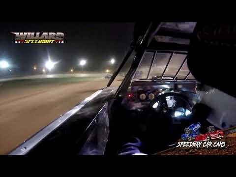 #27 George Caldwell - Sport Mod - 8-7-21 Willard Speedway - In-Car Camera - dirt track racing video image