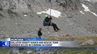 Gallatin County Search and Rescue team member killed in climbing accident