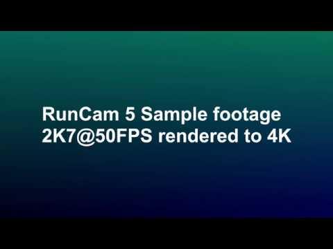Runcam5 Sample video 2K7@50FPS - UCahqHsTaADV8MMmj2D5i1Vw