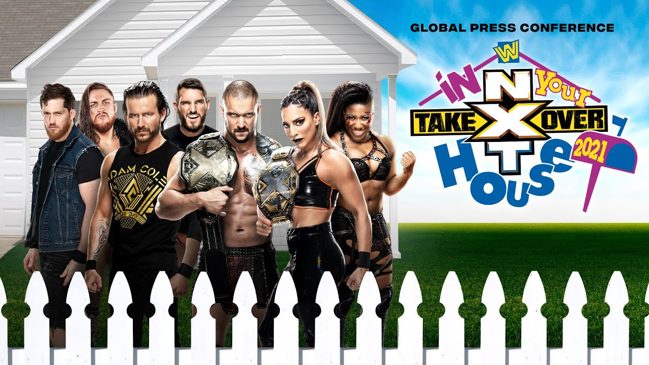 NXT TakeOver: In Your House Global Press Conference