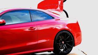 Smontaggio batteria Audi A5 RS5