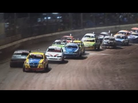 2007/08 National Modified Production Title (Night 2): Maryborough Speedway   23rd March 2008 - dirt track racing video image