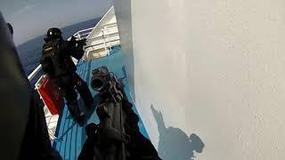 Carabinieri/Polizia  Esercitazione congiunta antiterrorismo GIS E NOCS