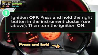 Reset service olio Peugeot 108
