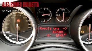 Regolare ora e data Alfa Romeo Giulietta