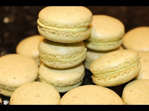 How to Make Matcha Macarons with Matcha Butter Cream