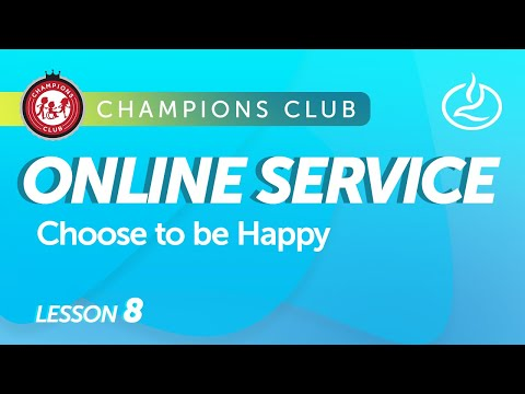 Champions Club Church Service for Individuals with Special Needs - Choose To Be Happy