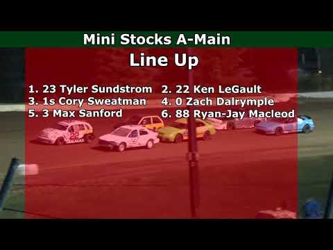 Grays Harbor Raceway, June 5, 2021, Mini Stocks A-Main - dirt track racing video image